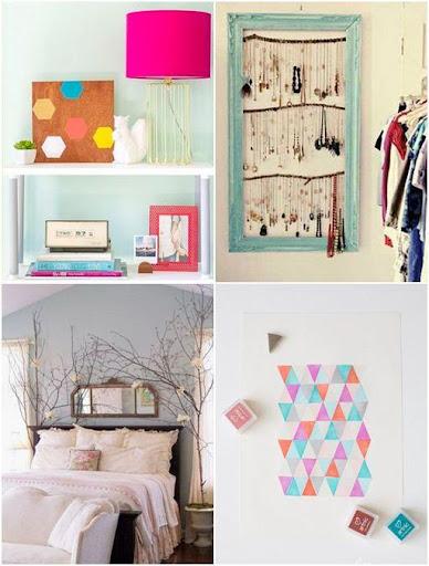 DIY臥室裝飾的想法