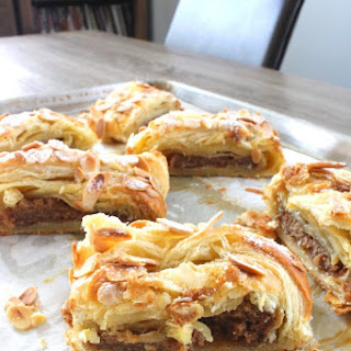 Easy Almond Puff Pastry.