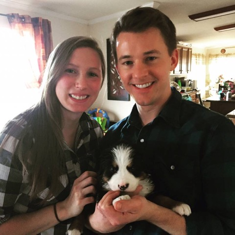 Newlyweds Stephanie and Josh