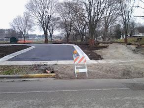 Photo: New entrance paved 11-21-2013