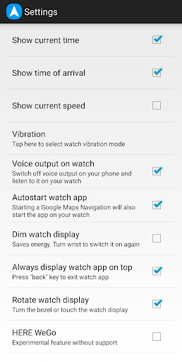 Screenshot for Navigation Pro: Google Maps Navi on Samsung Watch in United States Play Store