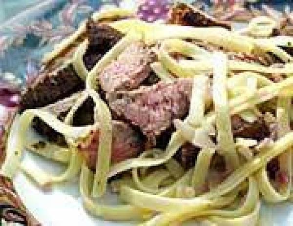 Cajun Steak Fettuccine Recipe