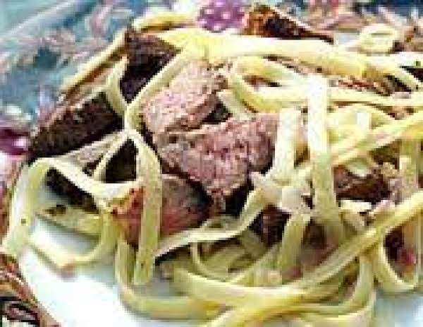 Cajun Steak Fettuccine Recipe