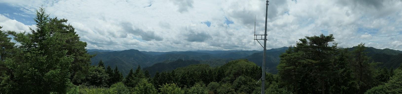 弁当山からパノラマ(南方面)