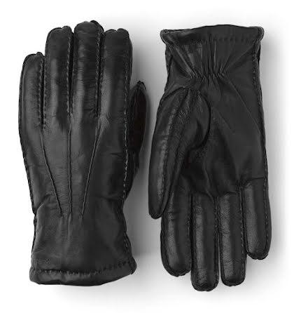 Hestra George handskar i lammskinn svart