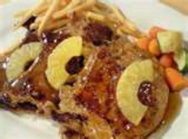 Hawaiian Pork Steaks Recipe