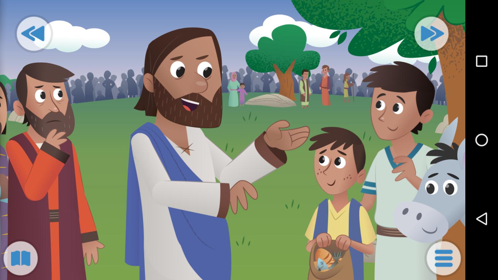 La bible app pour les enfants applications android sur google play - Application pour mesurer les decibels ...