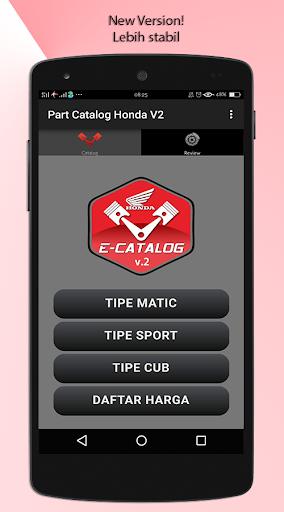 E-Catalog Motor Honda 3.1 screenshots 1