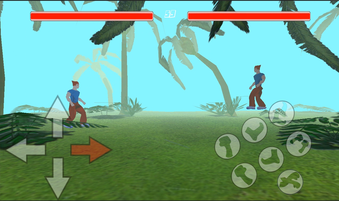 Fight Masters 3D fighting game- screenshot
