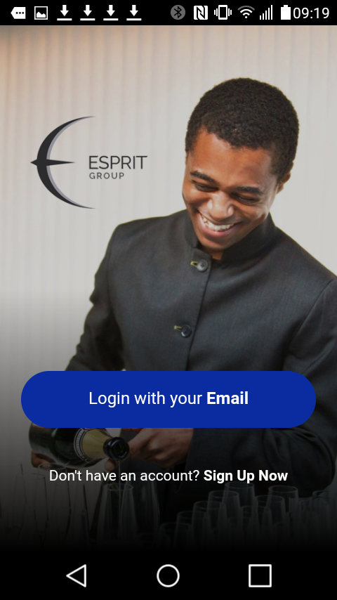 Esprit Group- screenshot