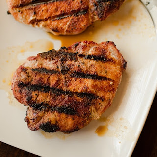 Pork Chops with Carolina Spice Rub.