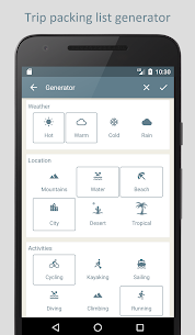PackTeo – Travel Packing List 2