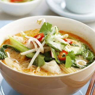 Spicy Coconut Fish Soup.