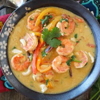 Shrimp Thai Green Curry.