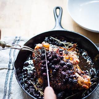 Roasted Turkey Breast with Blueberry Balsamic Glaze