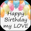 Happy Birthday My Love Quotes icon