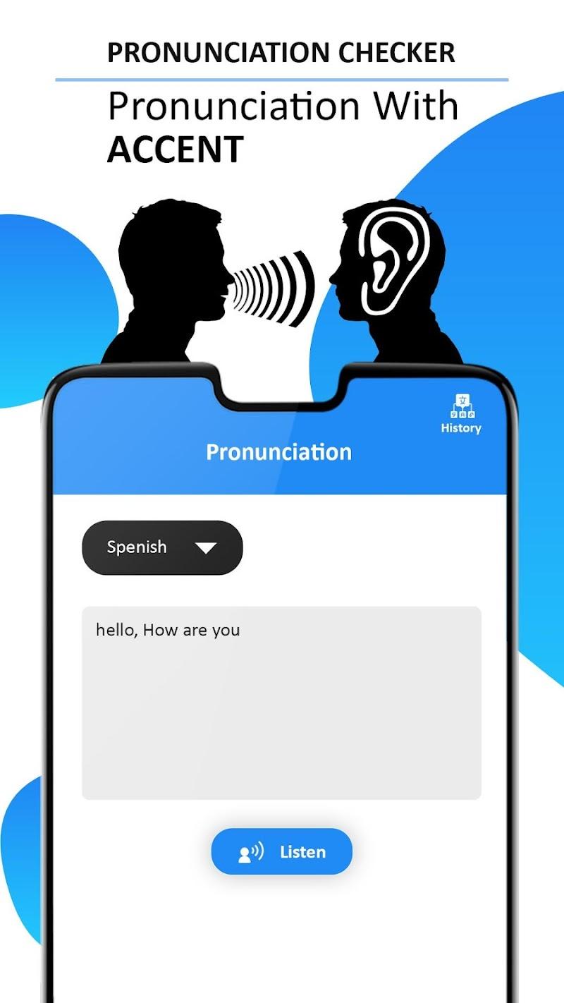 Pronunciation, Word Translator & Spelling Checker Screenshot 2