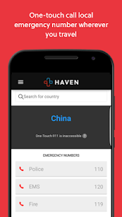 RapidSOS Haven - Emergency App- screenshot thumbnail