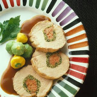 Stuffed Pork Loin Genoa Style.