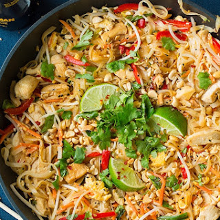 Chicken Pad Thai.