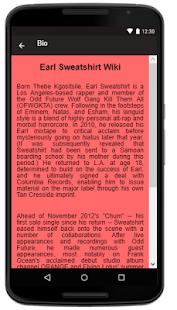 Earl Sweatshirt Songs+Lyrics. - náhled