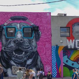 Street Art by VAM Photography - City,  Street & Park  Street Scenes ( art; street art; culture, art, art; street art; culture; brooklyn; abstract; )