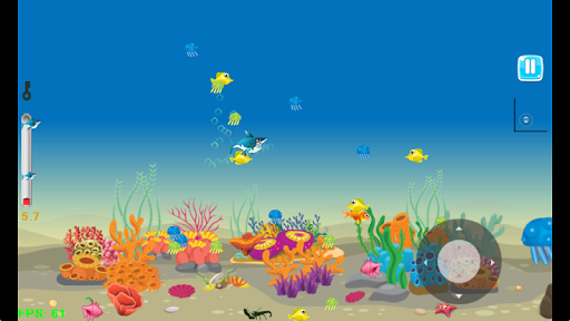 Shark Journey - Feed and Grow Fish Game filehippodl screenshot 1