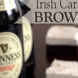 Irish Car Bomb Brownies.