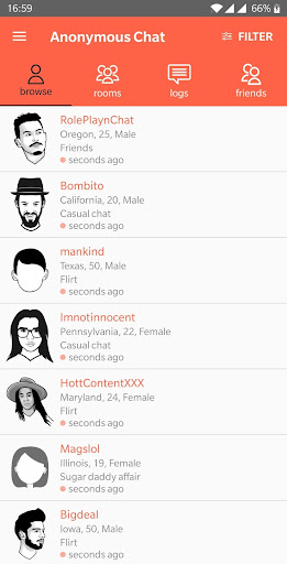 Anonymous Chat 1.60 screenshots 1