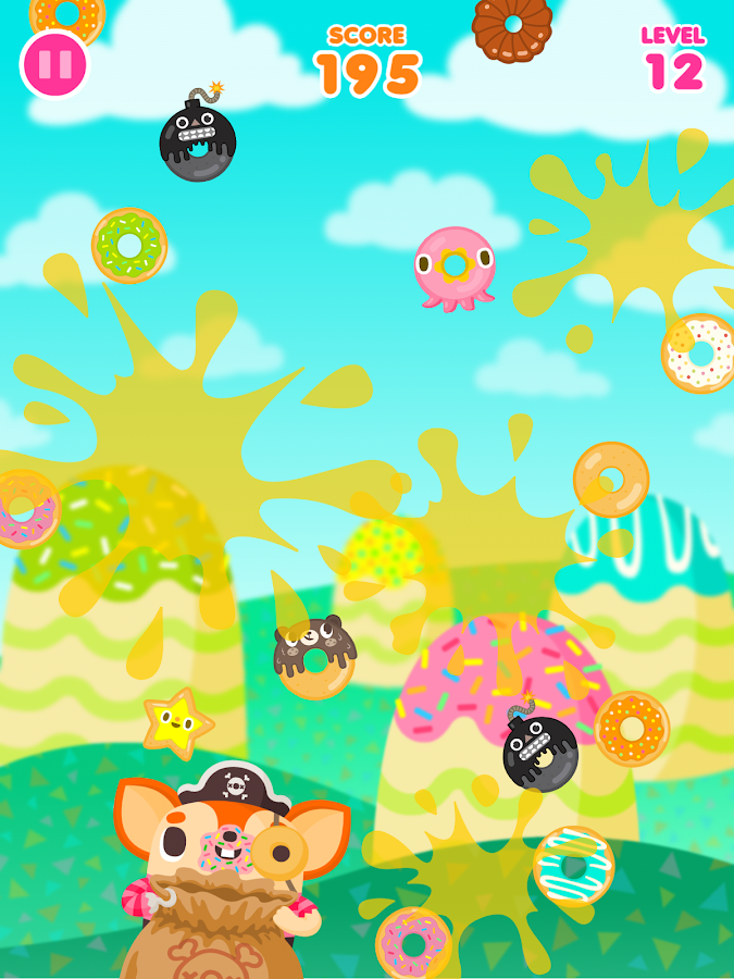 Donut Pirate- screenshot