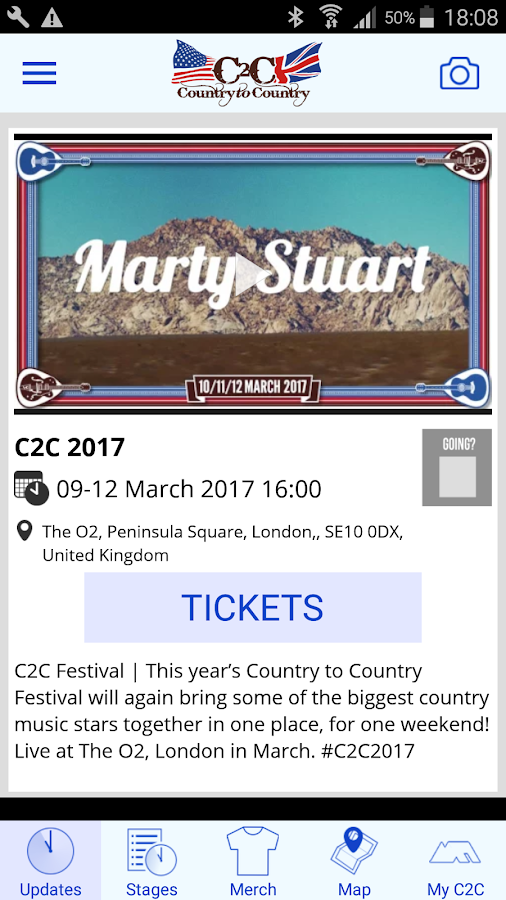 C2C Festival- screenshot