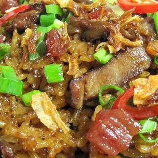 Savoury Glutinous Rice 糯米饭 Recipe