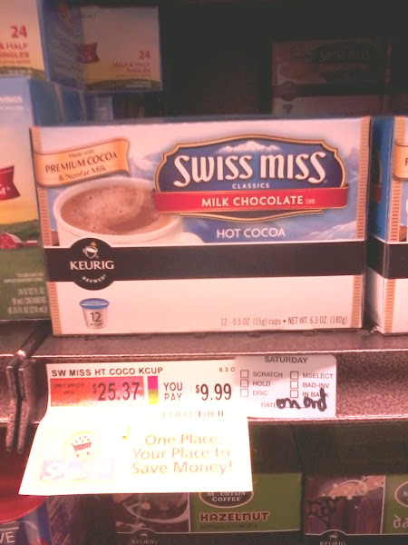 Photo: Swiss Miss K-Cups? Yes please!