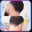 Men haircuts Video tutorials icon