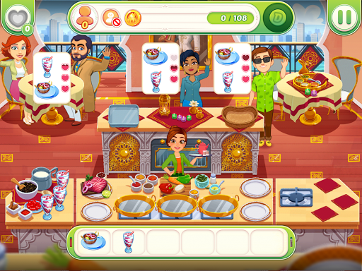 Delicious World - Romantic Cooking Game apkmr screenshots 8