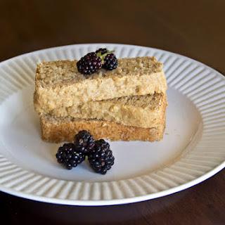 Vanilla Pound Cake (egg free and almost vegan)