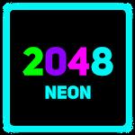 2048 Neon Icon
