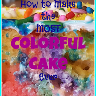 How to Make the Most Colorful Cake Ever.