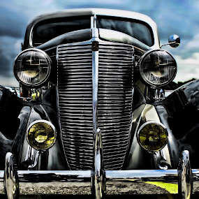 LaFayette by Sarah Hauck - Transportation Automobiles ( car, metal, lafayette, oldie, shiny )