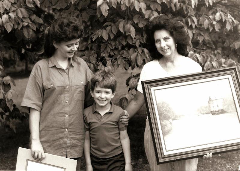 Photo: Susan Gore Gardner, Christopher Gardner, and Shirley Gore.
