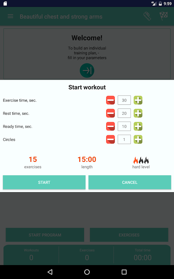 Upper body workout for women - Beautiful breast- screenshot