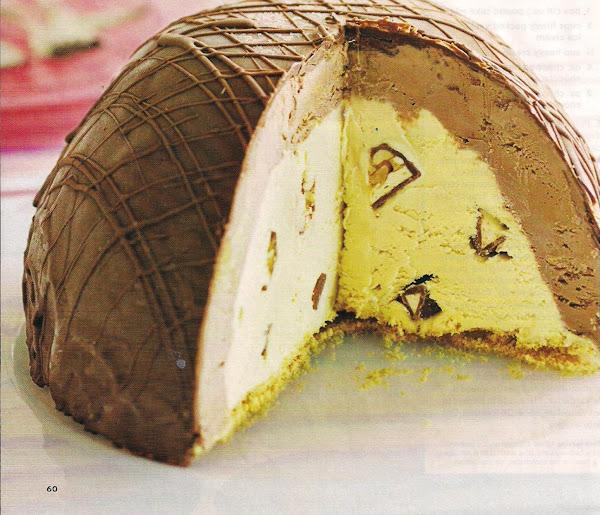 Chocolate Peanut Butter Bombe Recipe
