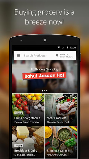 PepperTap - Online Grocery screenshot