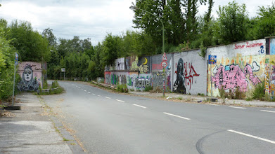 Photo: Graffiti an der Zollstraße