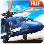 Police Helicopter : Simulator Robber Chase Flight Icon
