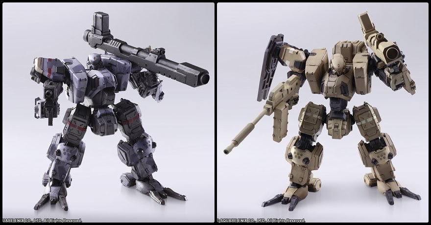 "Action Figure Wander Arts ""Zenith"" จากเกม Front Mission 1ST"