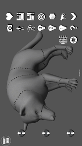 Wolf Pose Tool 3D screenshot 1