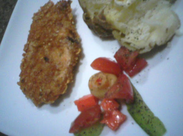 Crunchy Baked Chicken Recipe