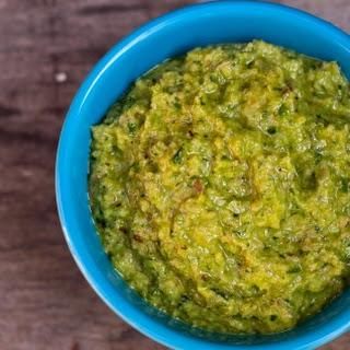 Ramp, Green Garlic And Walnut Pesto
