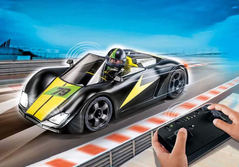 Contenido real de Playmobil® 9089 Racer Deportivo RC